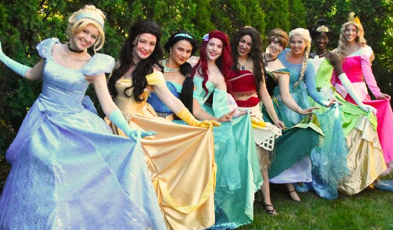Royal Princess Parties Llc Princess Characters And Super